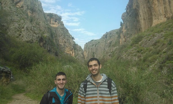 Alaa (izquierda) y Raghd