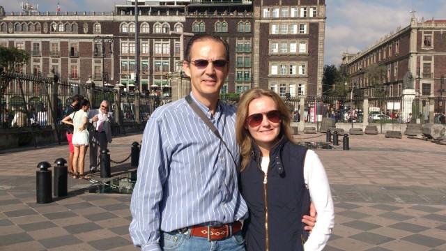 Myriam Hernández y Pablo Sagarra